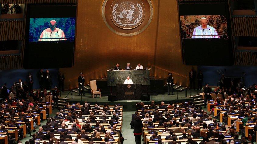 Discurso histórico del Papa frente a los líderes mundiales de la ONU
