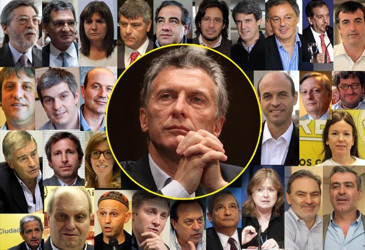 El equipo de Macri presidente: PRO puros, radicales, sorpresas e incógnitas