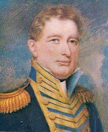 Almirante Brown (miniatura de Henry Hervé, 1825).