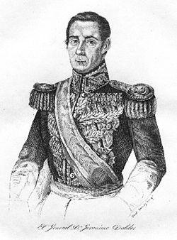 Gerónimo Valdés de Noriega(1784 - 1855)