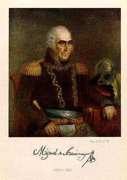 Miguel de Azcuénaga. Óleo - Museo Histórico Nacional de Argentina.