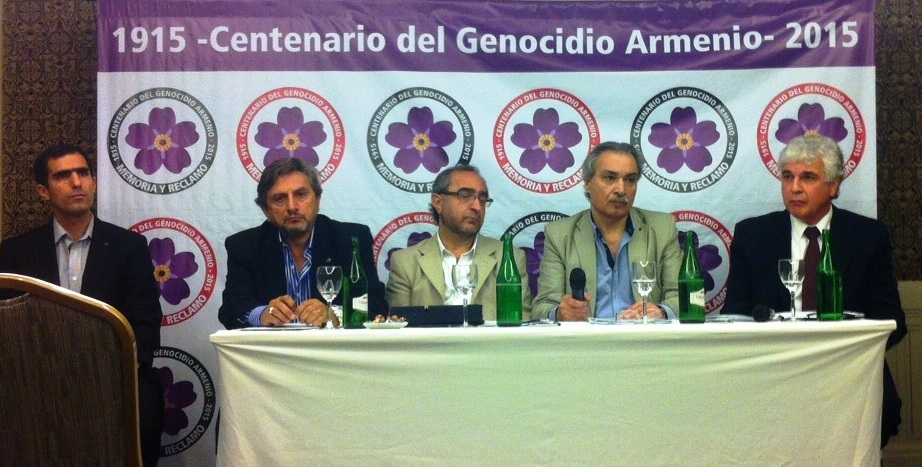 Se realizo la conferencia de prensa en el hotel Intercontinental de la ciudad de Buenos Aires convocada por la Comisiòn del Centenario del Genocidio Armenio de Argentina.
