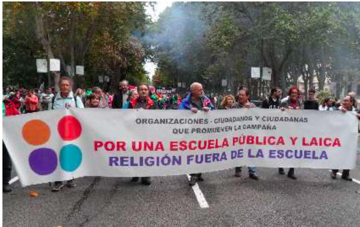 Las religiones en general continúan intentando imponer sus dogmas y su presencia en los espacios públicos en todo el planeta.