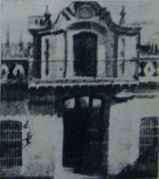 La casa de Manuel Belgrano, demolida a inicios del siglo XX.