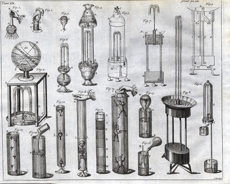 Curso de filosofía experimental, segundo tomo, 1744.
