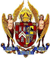 Escudo y sello de la actual Gran Logia Unida de Inglaterra.