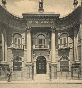 Palacio Cangallo - Actual sede de la Gran Logia de Argentina de libres y aceptados masones.