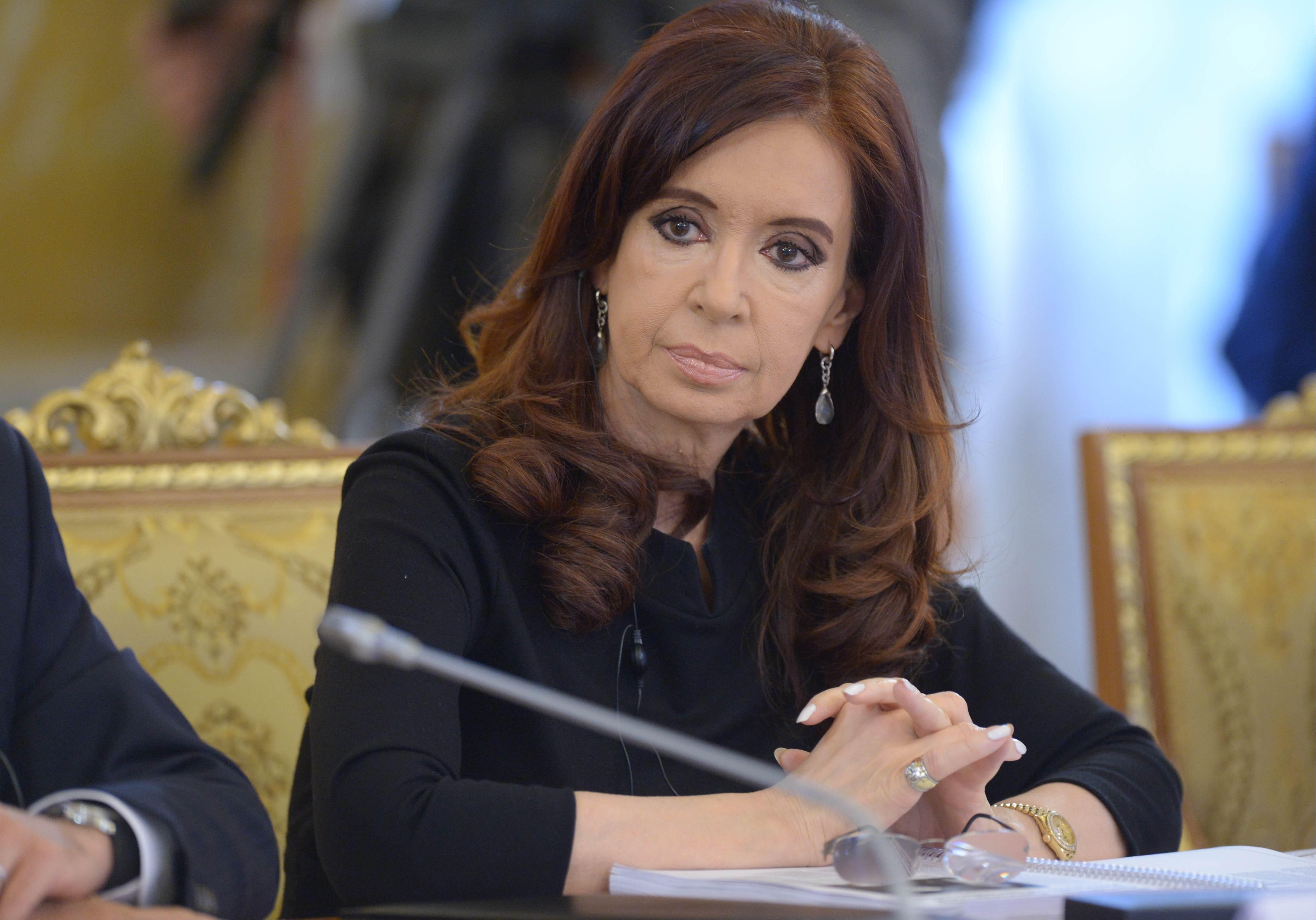 ArgentinePresident Cristina Fernández de Kirchne