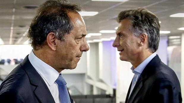 Scioli y la dura campaña electoral contra Macri.Foto:LA NACION/Rodrigo Néspolo.