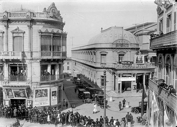 Teatro Solís. Montevideo, 1923.