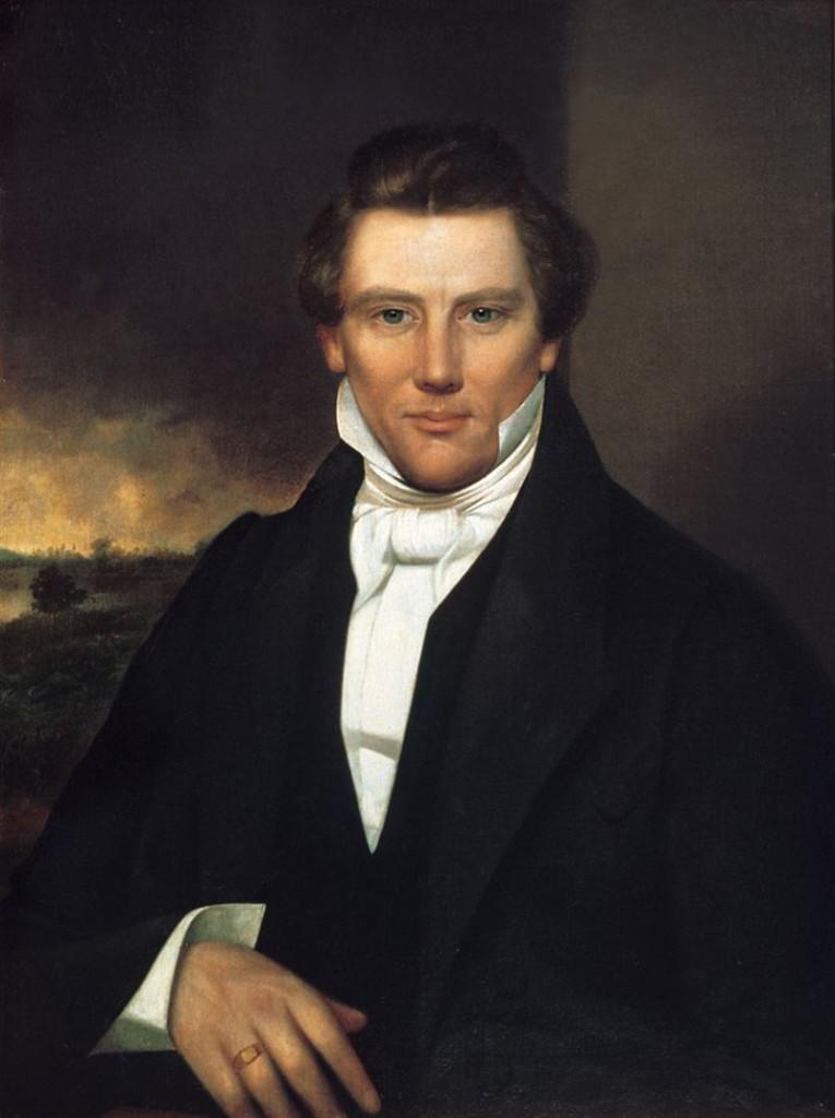 El fundador de la iglesia de los mormones, Joseph Smith.