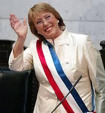 Asunción mandato de Michelle Bachelet.