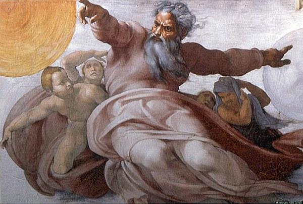 El Dios Abrahámico es concebido como eterno, omnipotente, omnisciente y como el creador del universo.