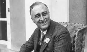 Franklin Delano Roosevelt (30 de enero de 1882 - 12 de abril de 1945)