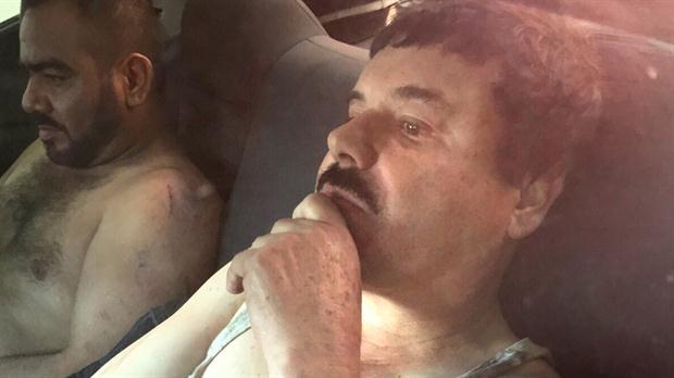 México celebra la recaptura de «El Chapo» Guzmán tras seis meses