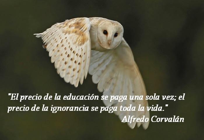 Mensaje de Alfredo Corvalán