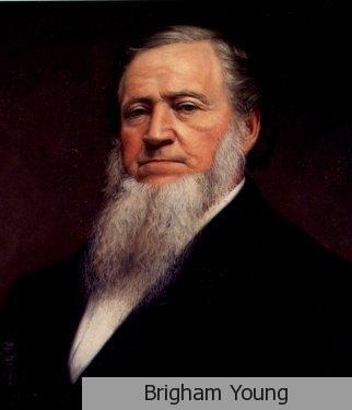 Brigham Young era el segundo presidente de los mormones