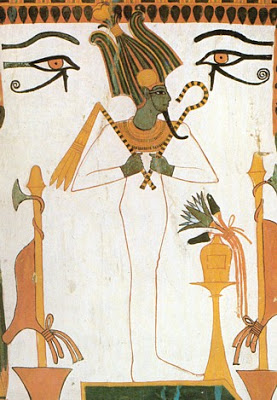 Osiris, el más popular de todos los dioses egipcios.
