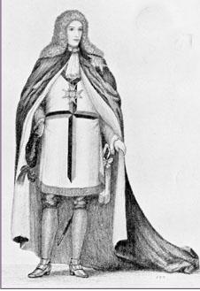 Andrew Michael Ramsay, (1686-1743) llamado el Caballero Ramsay, porque el rey de Francia le había condecorado con la Orden de San Lázaro.