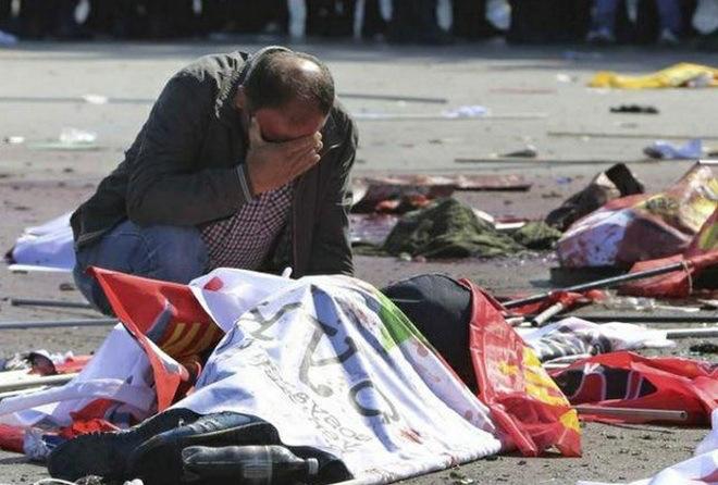 Atentado causó 86 muertos en marcha por paz en Turquía